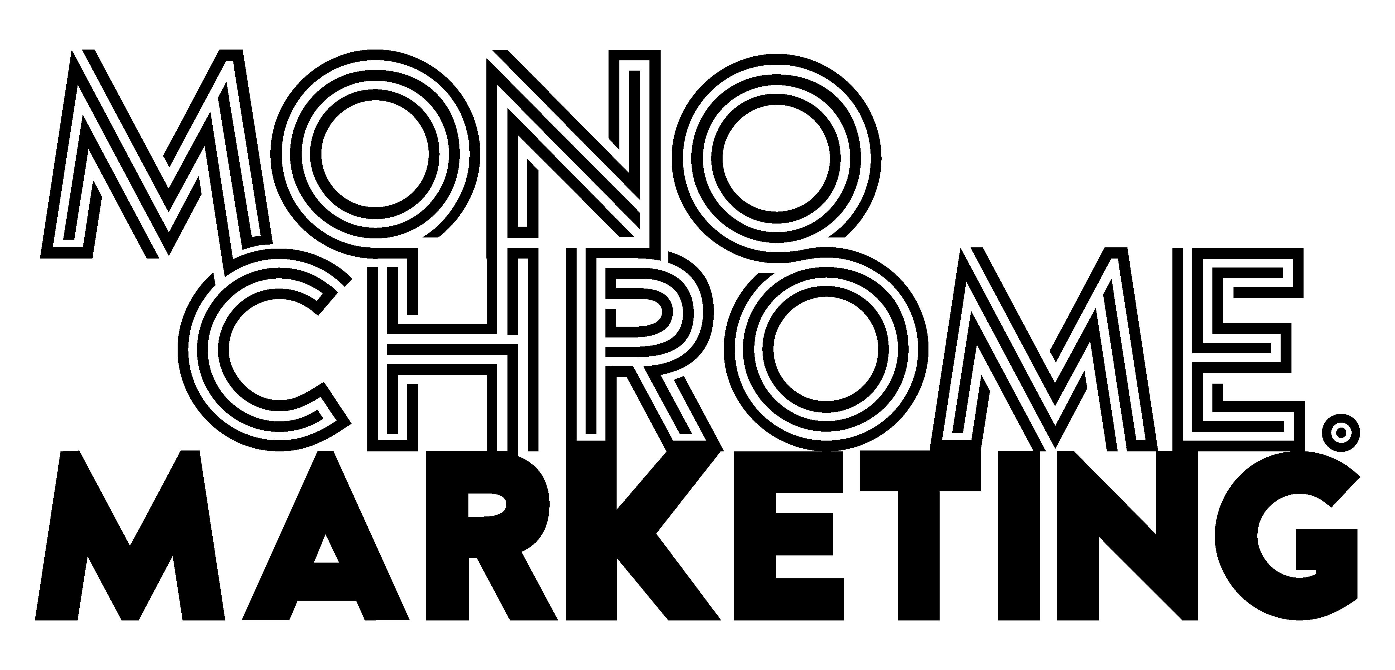 Monochrome Marketing Logo
